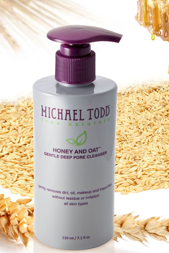 Michael Todd Honey and Oat Gentle Deep Pore Cleanser