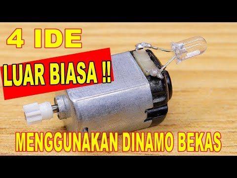 4 Ide Kreatif Luar Biasa Menggunakan Dinamo Bekas Youtube Kreatif