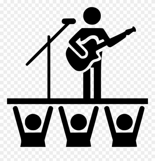 10 Concert White Icon Png Icon Png Icons Light Icon