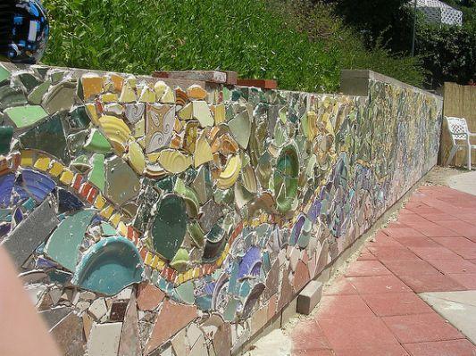 12 Best Outdoor Walls Fences Mosaic Wall Mosaic Wall Art Mosaic Murals