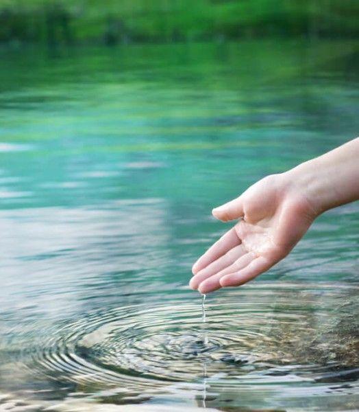 Kringen in het water