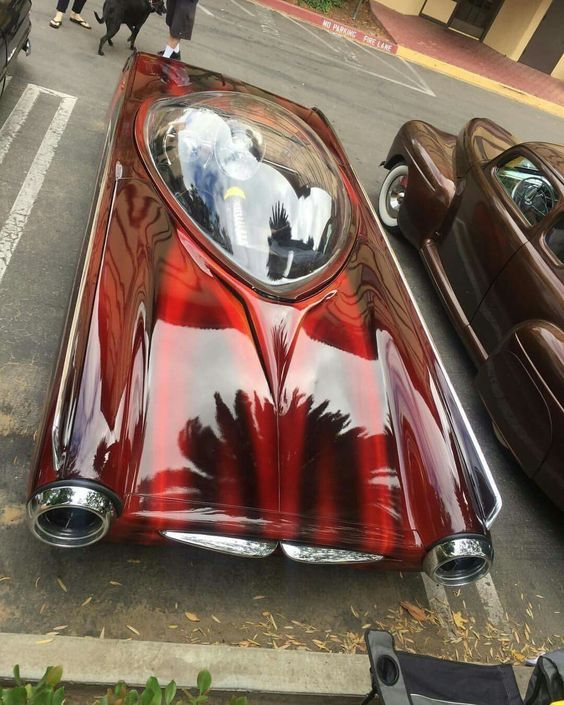 1963 Ford Thunderbird Radical Custom 1 Custom Cars Paint Car