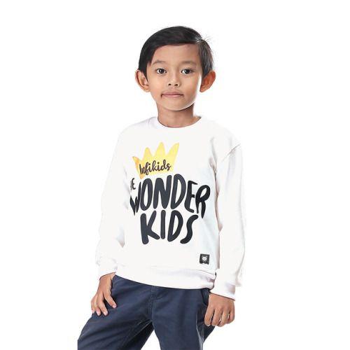 Sweater Anak Laki Laki Iyn 619 Baby Terry Putih 2 8 Rp Anak