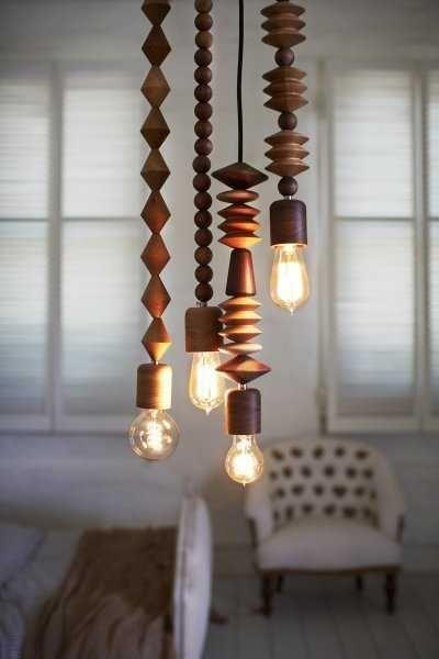 Bolas de madera, una original manera de decorar