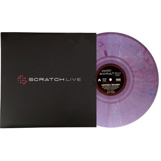 Rane: Serato Scratch Live Control Vinyl - Purple