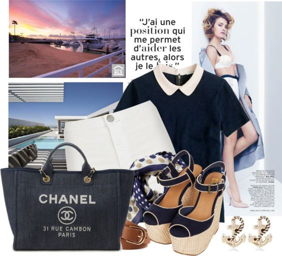 """""""Sea style"""" by grace1311 ❤ liked on Polyvore"""