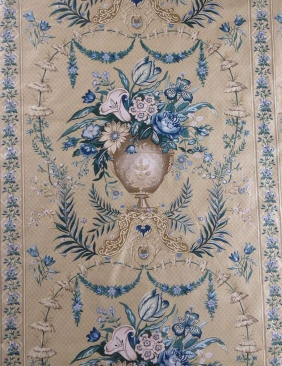 10 Metres  Arum Lily  By Sally Baring, Designer Furnishing Fabric