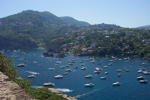 Ischia - An island next to Capri, less overwhelmed by tourists and containing some charms of its own