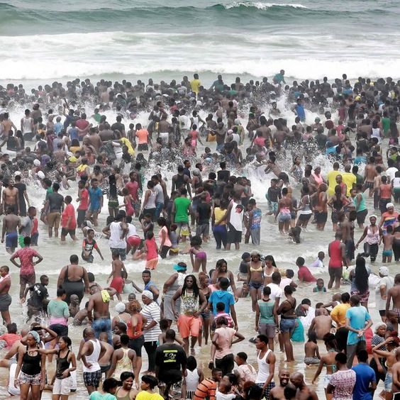 South African Beaches New Year