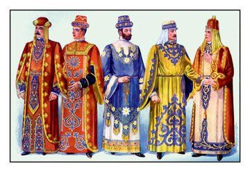 Odd Fellows: Men in Robes and Turbans 20x30 poster