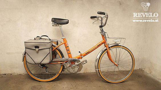 Peugeot NS folding bicycle // Randonneuse