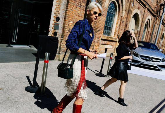 Street Style: Australian Fashion Week 2015 - Vogue