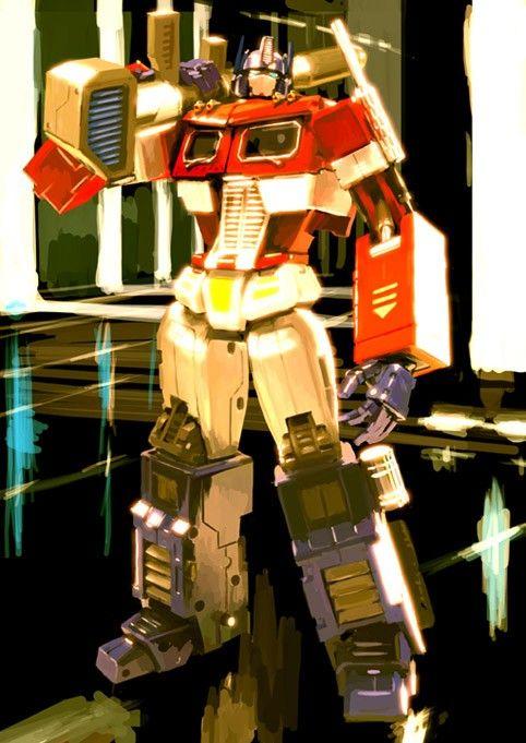 Transformers - Optimus Prime by Gerald Parel *