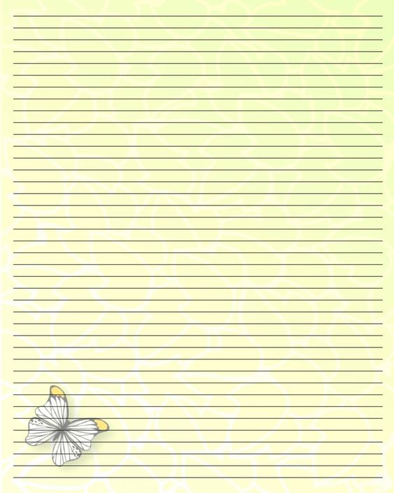 Free Printable Writing Paper (50) by Aimee-Valentine-Art - free printable writing paper