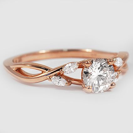 Cushion Cut Willow Engagement Ring