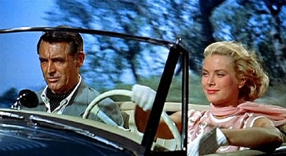 cary grant & grace kelly: to catch a thief: