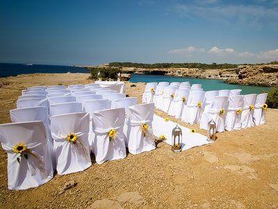 Luxury Elegant Beach wedding in Ibiza