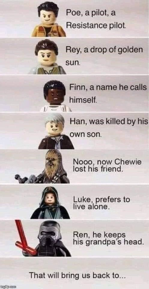A Roundup Of Random Content For Bored Eyes In 2021 Star Wars Humor Funny Star Wars Memes Star Wars Geek