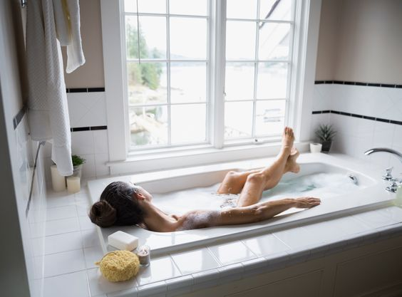 Having a Hot Bath Burns as Many Calories as a 30-Minute Walk, Study Says from InStyle.com