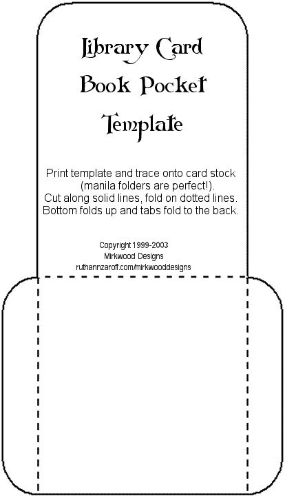 pocket reference card template business plan template