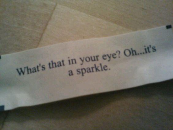 I'm so fortunate :-)