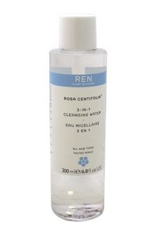 rosa centifolia 3-in-1 cleansing water by ren 6.8 oz