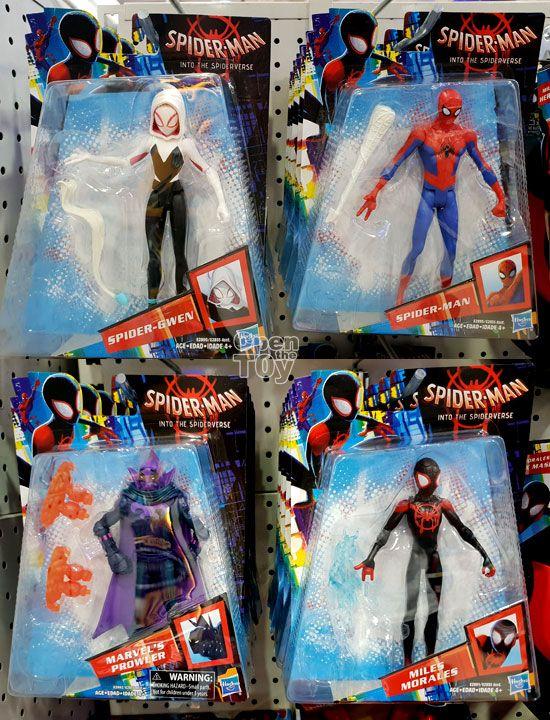 Super Legends Spider Man Figure Spiderman Into the Spider-Verse Action Toy Gift