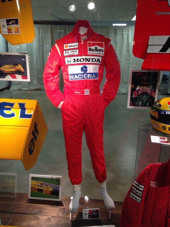 Ayrton Senna Marlboro McLaren Race Suit 1988 Marlboro ...