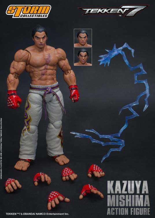 Tekken 7 Kazuya Mishima Special Edition 1:12 Scale Figure