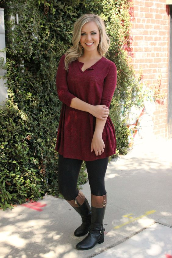 Leaves Are Falling Tunic