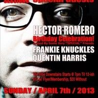 H Romero F Knuckles Q Harris Live at 718 Sessions April 7 2013 Full.mp3 by Quentin Harris on SoundCloud