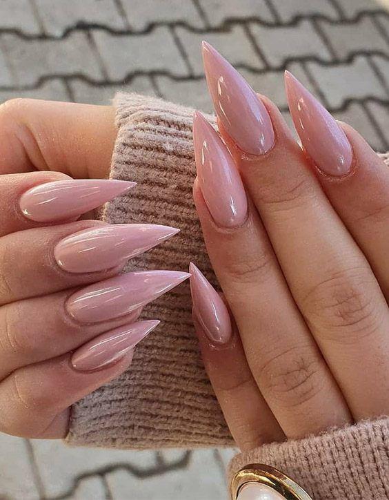 Gorgeous Stiletto Nails Design Looks To Copy In 2020 Nail