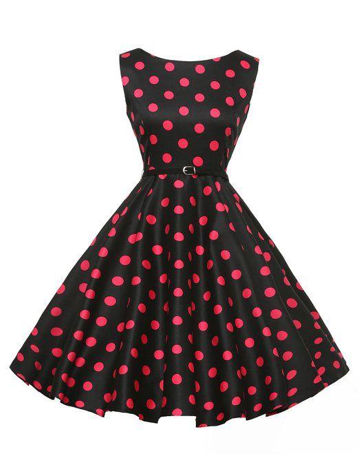 Chic Vintage années 50 s Style Audrey Hepburn Rockabilly Swing robe de fête de pique,nique Amazon.fr Vêtements et accessoires