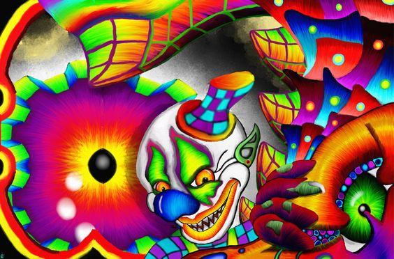 The Twisted Clown By Techbehr