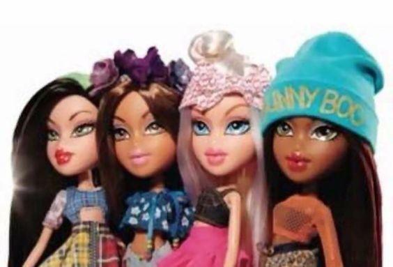 promophoto bratz dolls 2015 jade yasmin cloe and sasha