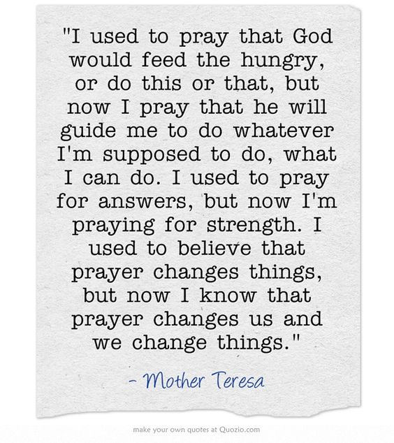 I believe this SO MUCH i can barely stand it.  Pray for strength because YOU are the only one who can change what you want to!!!  LOVE!!!