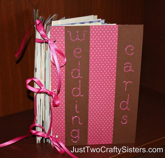 Bound Booklet of our Wedding Cards