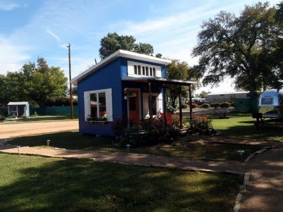 Austin Texas has a tiny house community for homeless people an