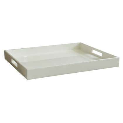Lacquer tray 14x17  JONATHAN ADLER