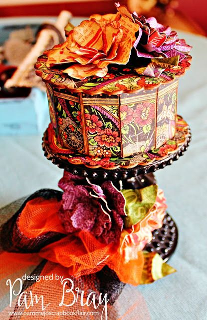 Scrapbook Flair: Pam Bray Designs: Did You Say Candy....with Eileen Hull…