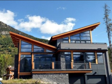 ICYMI: shed roof house designs modern