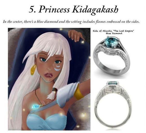 Disney Inspired Engagement Rings