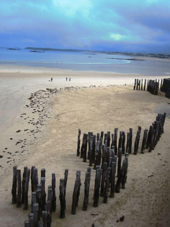 La plage vierge de Saint-Malo ! #sauvage #Bretagne #promenade