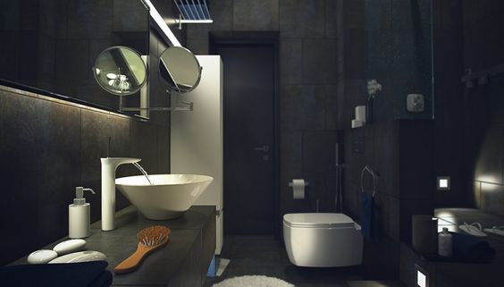Industrial design has become very popular recently, especially for old buildings that were turned into living spaces.