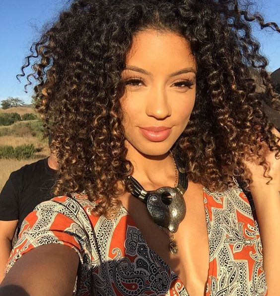 Fine Style Girls And Curly Hair On Pinterest Hairstyles For Women Draintrainus
