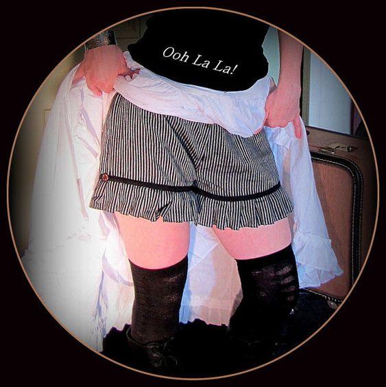 Steampunk Shorts Knickers Bloomers Lolita by TalismanaDesigns