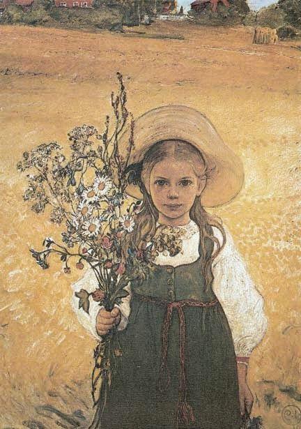 ART & ARTISTS: Carl Larsson - Part 7