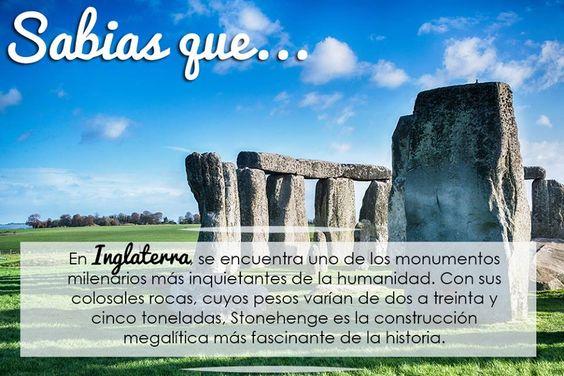 Estudia en #Inglaterra aprende inglés y conoce este fascinante monumento. Conoce más sobre nuestros programas en www.hiinternationalstudies.com y solicita tu asesoría GRATIS!!