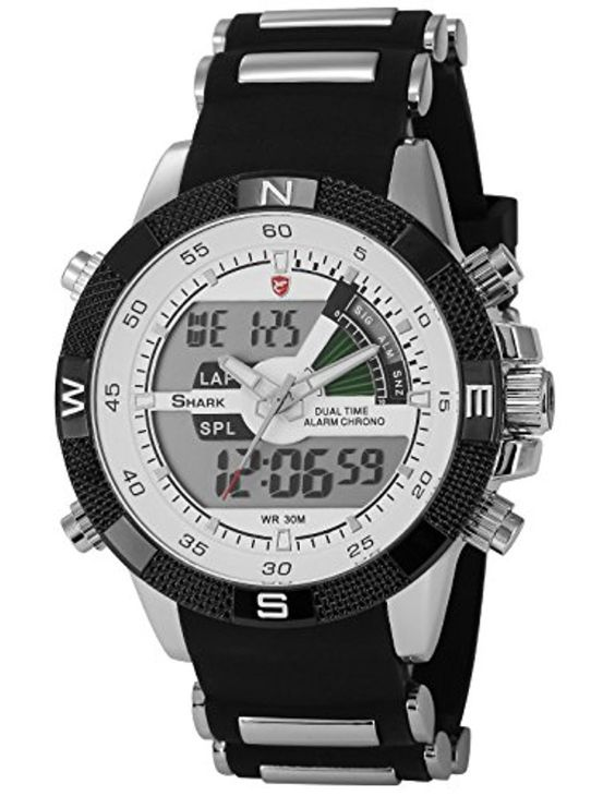SHARK Montre LED Homme Quartz Sportive Bracelet Acier Inoxydable Etanche Neuf SH041 2017 #2017, #Montresbracelet http://montre-luxe-homme.fr/shark-montre-led-homme-quartz-sportive-bracelet-acier-inoxydable-etanche-neuf-sh041-2017/