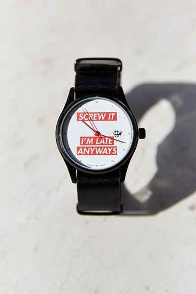 Cheapo Pop Screw It Watch - Urban Outfitters from Urban Outfitters
